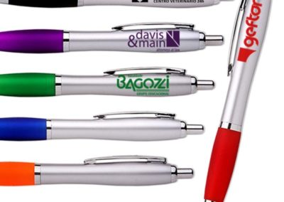 new-york-printed-plastic-pen-with-rubber-grip
